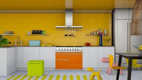 Kitchen ModernPlayful - by Laura_Barsa