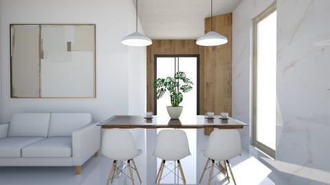 scandinavian - Modern - Dining room  - by Ulcia
