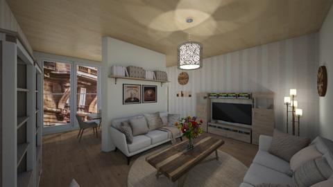 Cappucino living space  - Living room  - by AmeliaGrangerWeasley