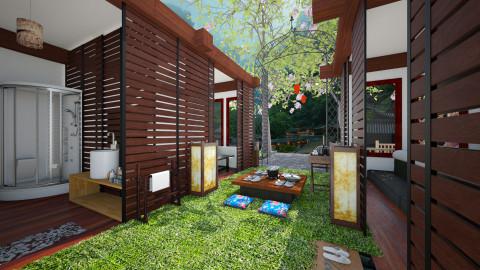 japan  - Garden  - by slyteryn oliver
