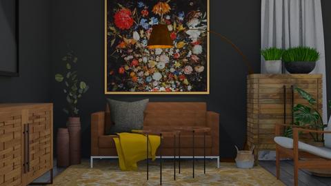COZY - Living room  - by Teigh Lynn