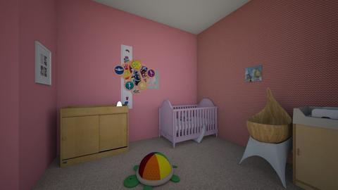 Kaylia Cotter - Kids room - by kathleengriffin
