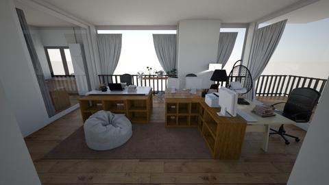 room - Modern - Bedroom  - by celion