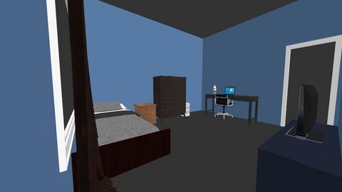 new room design - Modern - Bedroom  - by MysteryDin0