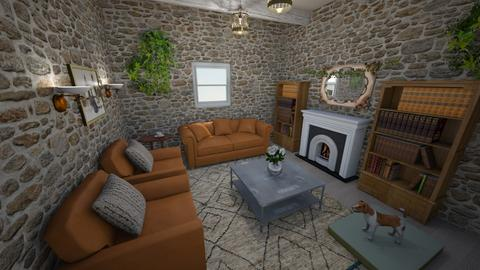 Cottage Living Room - Living room - by ktmg