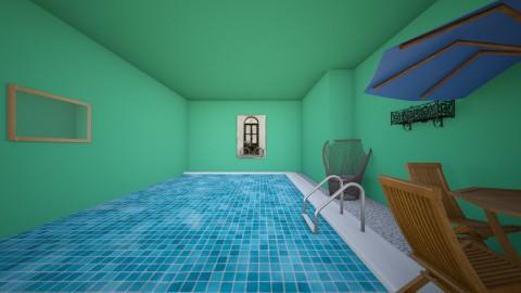 pool room - by MBlocker7125