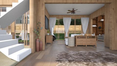 Modern Wood - Living room  - by RaeCam