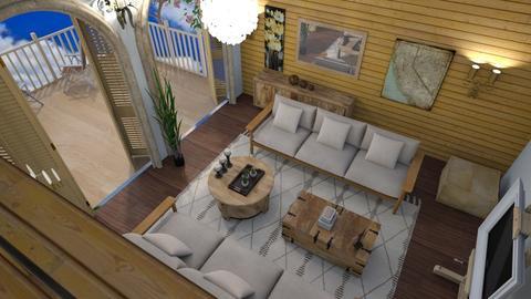 Happy villa 2 - Modern - Living room  - by Tree Nut