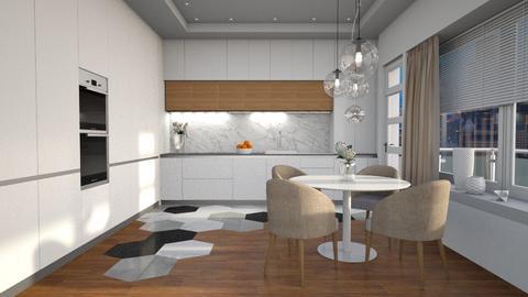 Hexa - Kitchen  - by Elaenerys