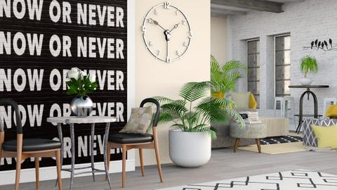 Now or Never - Modern - Living room - by millerfam