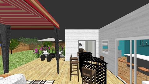 Tiffs Backyard Oasis - Garden  - by rexwood