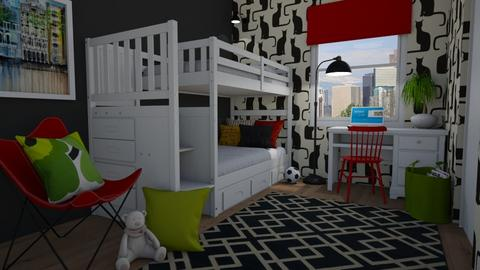 Small kids room - Kids room  - by Tuija