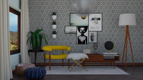 Mid Century - Living room  - by switte94