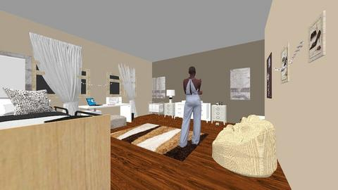 new room - Bedroom  - by jburrell0