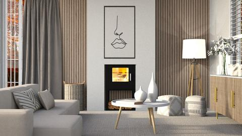 Fire place - Living room  - by eliseatlife