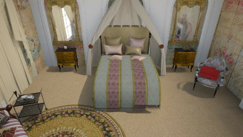 grand hotel - Classic - Bedroom  - by donella