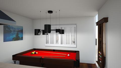 Kitchen L v5 pool table - Kitchen  - by kurtwise