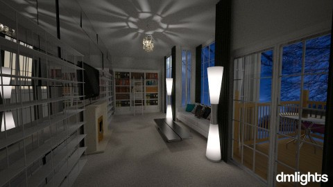 white living - Living room - by DMLights-user-1381324