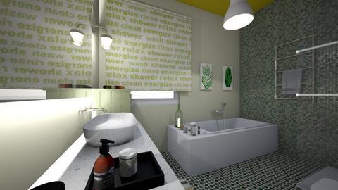 single bath - Bathroom - by bettamarchegiano