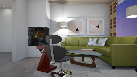 Congo St B1 - Modern - Living room - by Raymond Hill_Crate and Barrel_SFCA