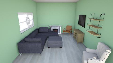 living room sectional - Living room  - by shell367