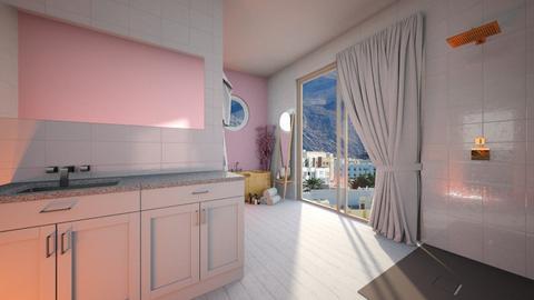 Cherry Blossom  - Bathroom  - by kitacat