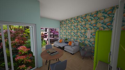Peaceful living - Living room - by Veeveenatyisy