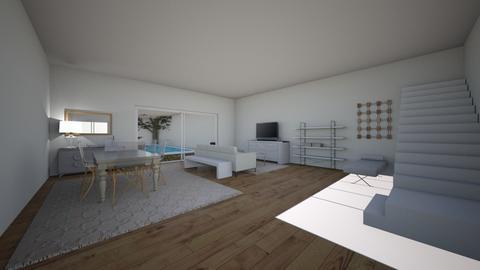 Small House Big Pool  - Living room  - by sloane2003