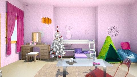 My Room 1 - Glamour - Garden - by platypusangic
