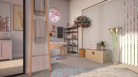 Cherry Blossom Bathroom - Bathroom  - by Sally Simpson