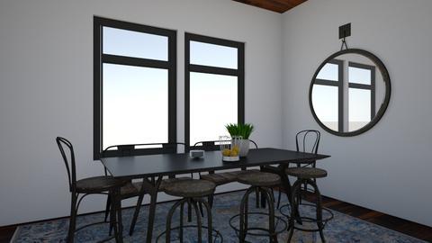 Homespun Dining Room - Dining room  - by Georgiaandres