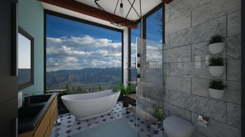 bathroom 2 - Bathroom - by elvievandenbroek
