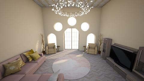 Golden Arches - Minimal - Living room  - by KajsaRain