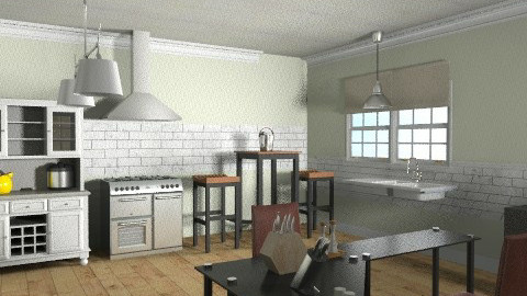 Kitchen - Glamour - Kitchen  - by prettygurlmya