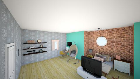 done 1 - Vintage - Bedroom  - by Joy Nichols