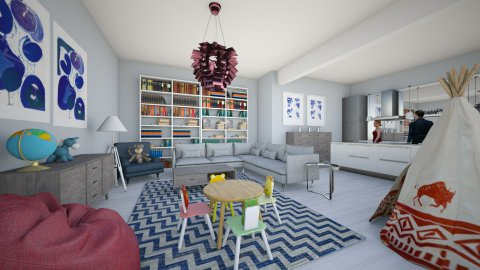 Play room modern - Kids room  - by Ana Mercedes