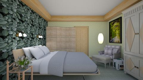 Sage Green Bedroom - Bedroom  - by Tupiniquim