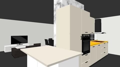 Openspace serranos2 - Kitchen - by AJBS