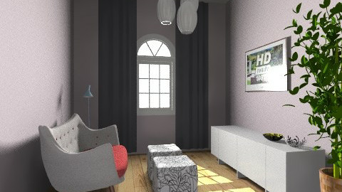 Little cinema - Living room  - by Kaarina