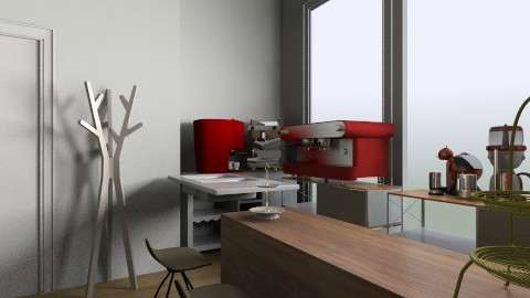 bleak house coffee - Eclectic - Kitchen  - by bleakhouse