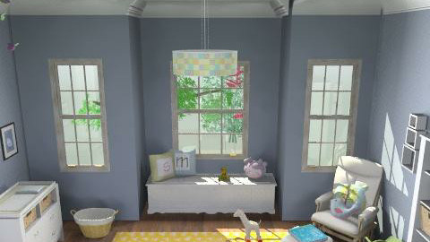 Dynamic Nursery - Classic - Kids room  - by ruthiec1