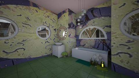 lily bathroom - Bathroom  - by sara laitinen