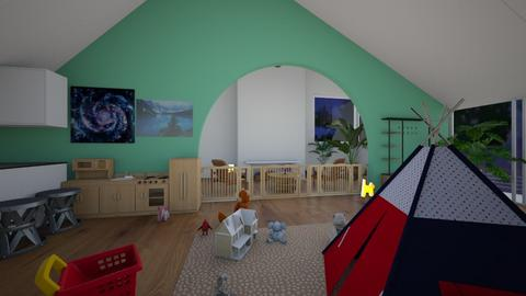 Contest_idk_room - Living room  - by Babybluewolfboo