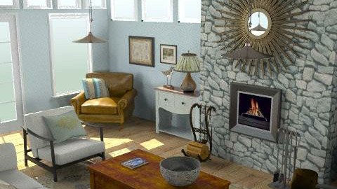 Cottage - Living Room - Eclectic - Living room  - by LizyD