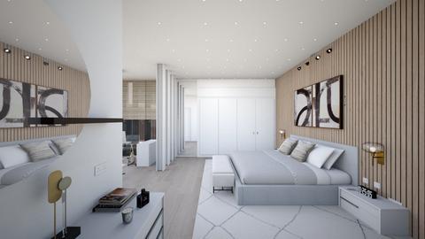 DeanA - Modern - Bedroom  - by Genevive_C907