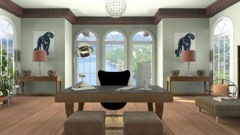 Art Deco Office - Vintage - Office  - by Baustin