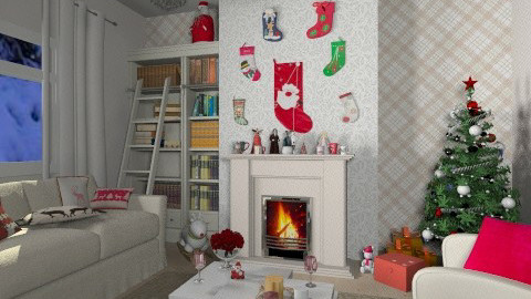 Christmas Night - Classic - Living room  - by FranChi