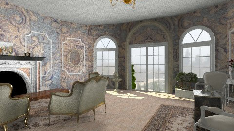 le elegance - Classic - Living room  - by ophelie_shelley
