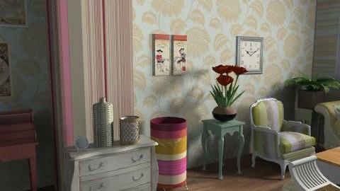 s.c.v. - Vintage - Living room  - by mogly