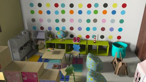 ici daycare v3y - Vintage - Kids room  - by mehar